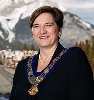 Banff Mayor Karen Sorensen